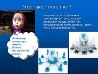 Методические разработки :: Внеклассное мероприятие для начальной школы «Что такое Интернет?».